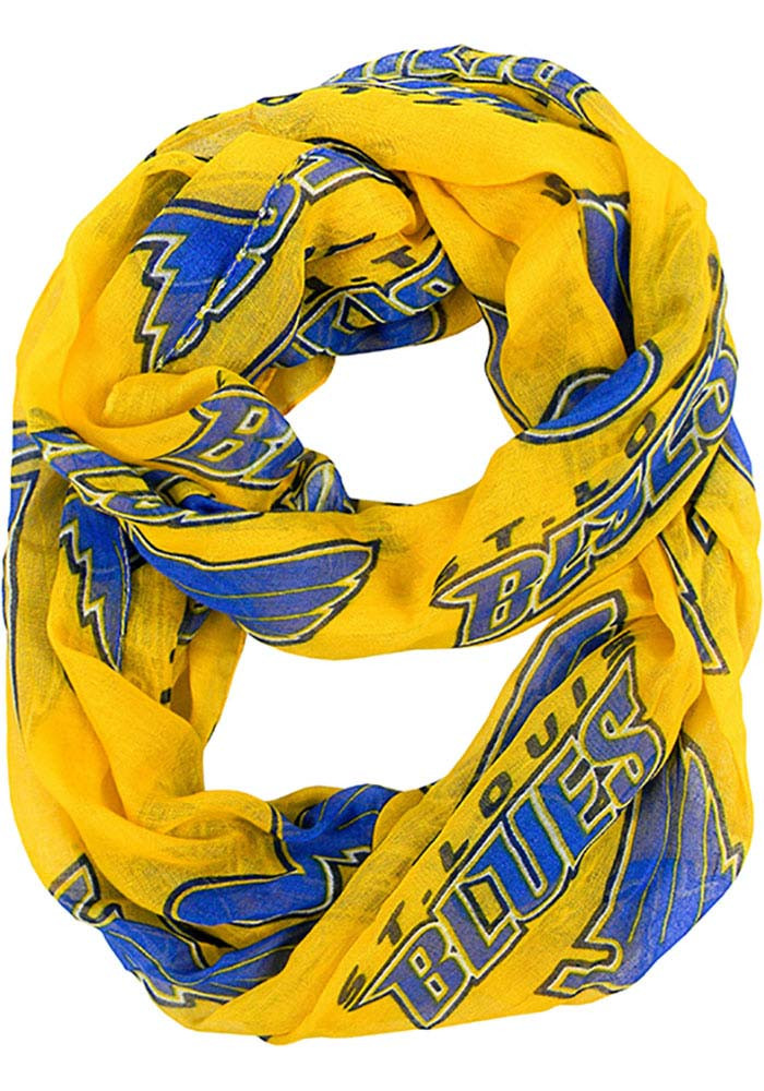 St Louis Blues Sheer Infinity Womens Scarf - Image 1