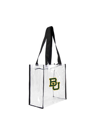 Baylor Bears White Stadium Approved 12 x 12 x 6 Clear Bag
