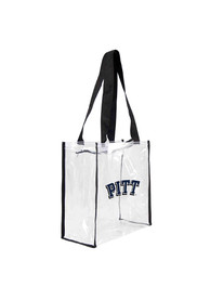 Pitt Panthers Stadium Approved 12 x 12 x 6 Clear Bag - White
