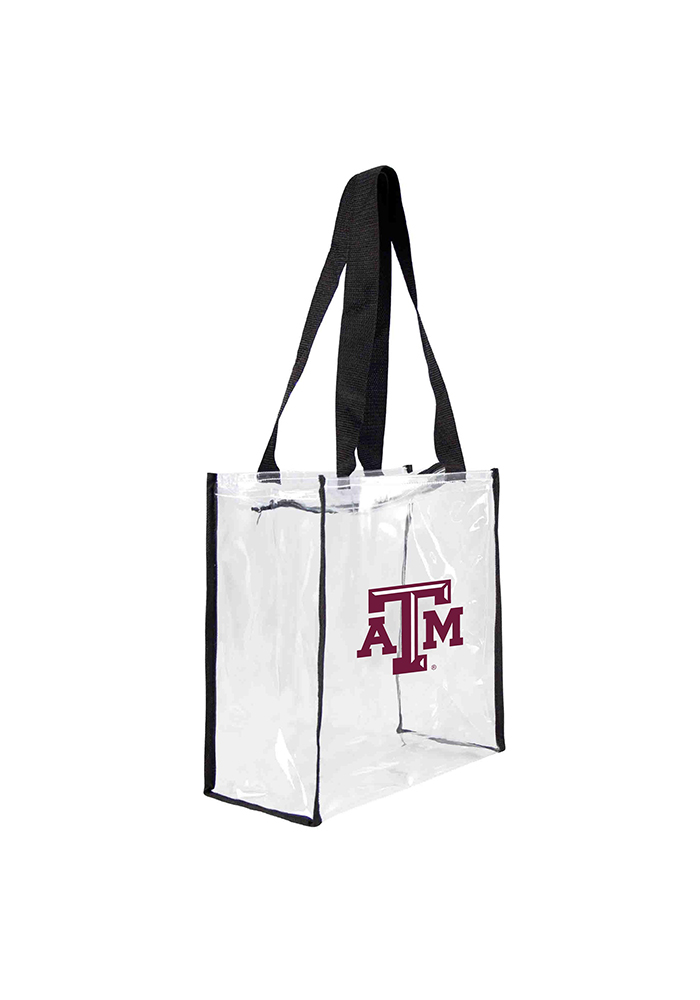 Texas A&M Aggies White Stadium Approved 12 x 12 x 6 Clear Bag - Image 1