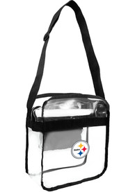 Pittsburgh Steelers Stadium Approved Clear Bag - White