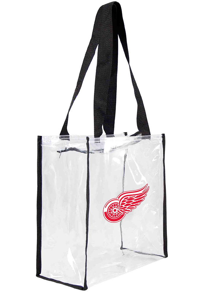 Detroit Red Wings White Clear Tote Clear Bag - Image 1