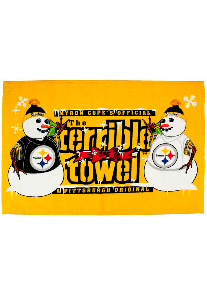 Pittsburgh Steelers Holiday Rally Towel