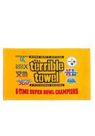 Pittsburgh Steelers 6X Champs Terrible Rally Towel