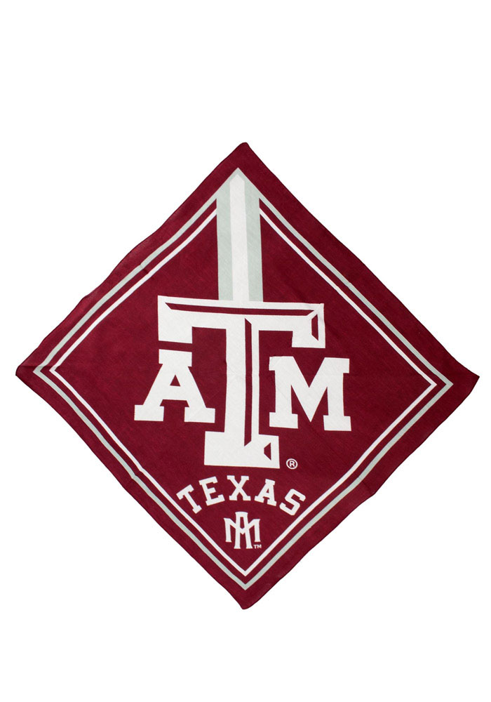 Texas A&M Aggies Full Color Mens Bandana - Image 1