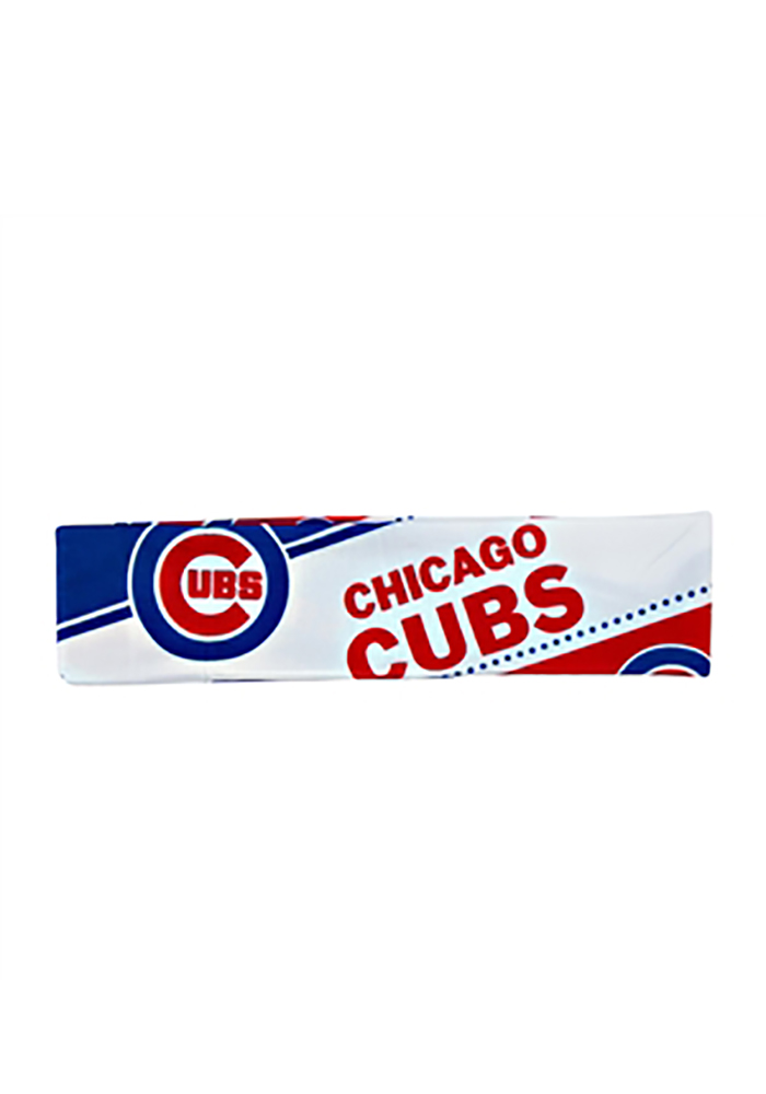 Chicago Cubs Stretch Patterned Womens Headband - Image 1