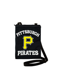 Pittsburgh Pirates Womens Game Day Pouch Purse - Black