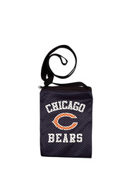 Chicago Bears Womens Game Day Pouch Purse - Black