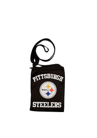 Pittsburgh Steelers Womens Game Day Pouch Purse - Black