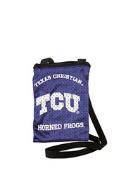 TCU Horned Frogs Game Day Pouch Womens Purse