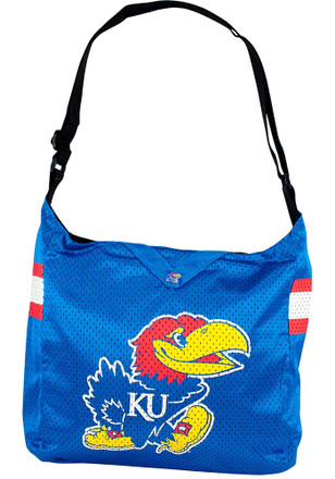 Kansas Jayhawks Blue Team Jersey Tote Lunch Tote