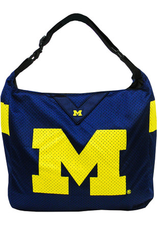 Michigan Wolverines Blue Team Jersey Tote Tote