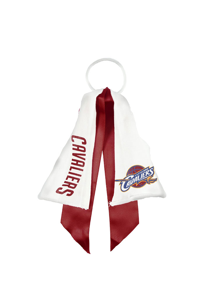 Cleveland Cavaliers Ponytail Holder Youth Hair Scrunchie - Image 1