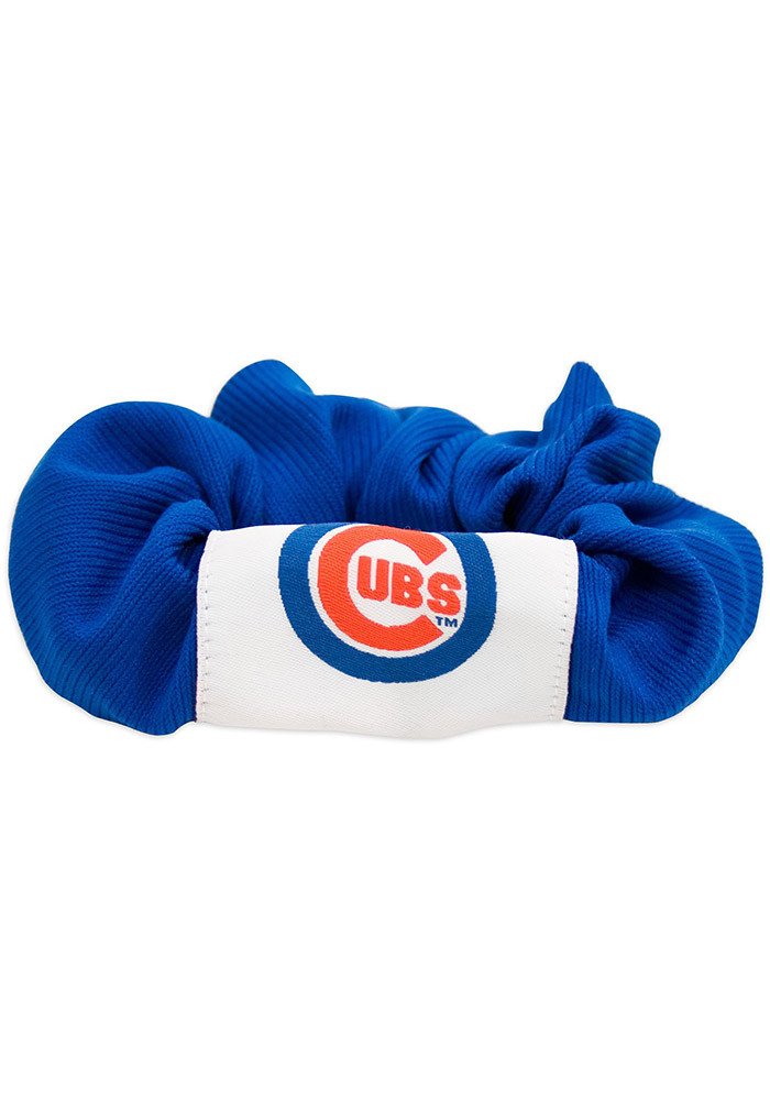 Chicago Cubs Hair Twist Youth Hair Scrunchie - Image 1