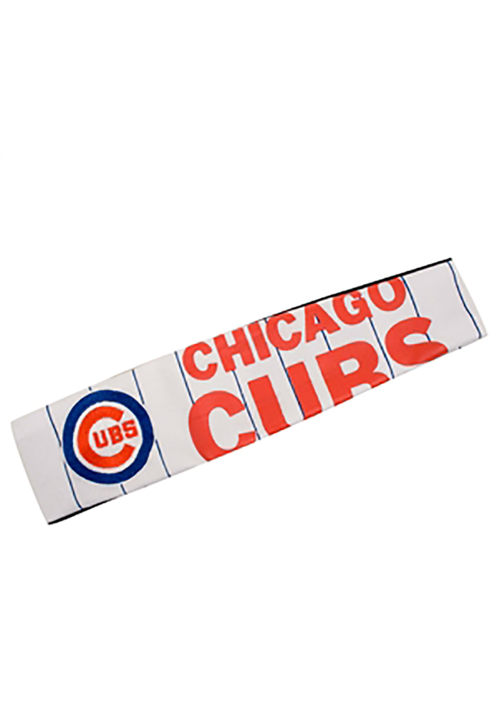 Chicago Cubs Jersey FanBand Womens Headband - Image 1