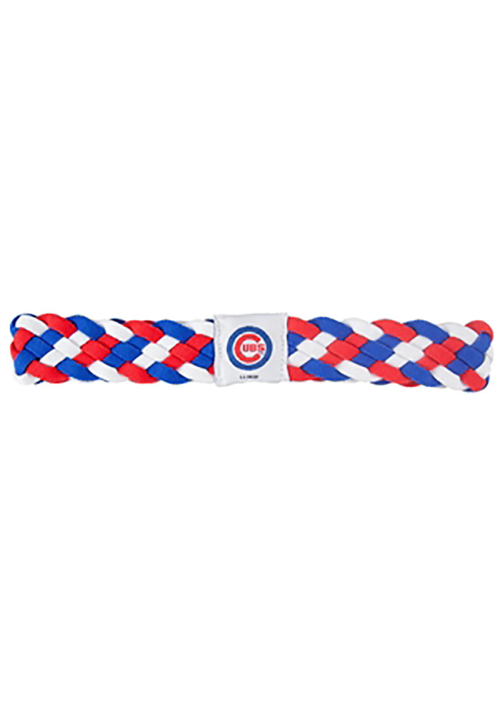 Chicago Cubs Braided Womens Headband - Image 1