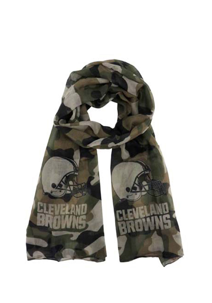 Cleveland Browns Camo Womens Scarf - Image 1