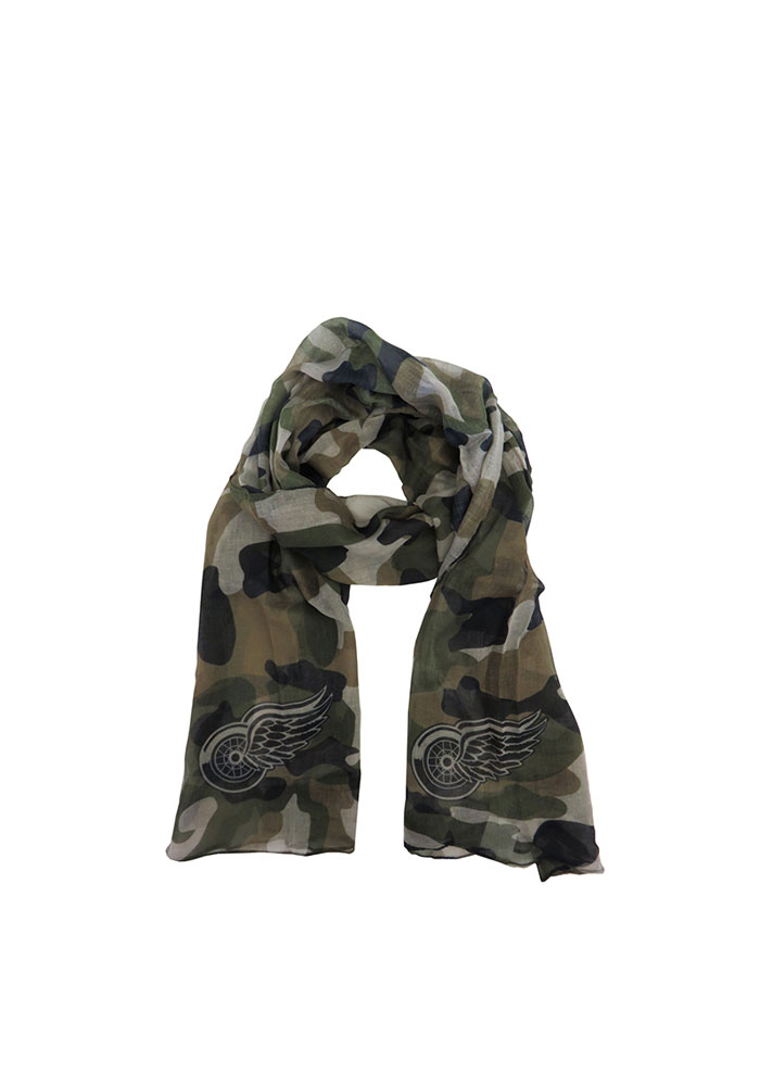 Detroit Red Wings Camo Womens Scarf - Image 1