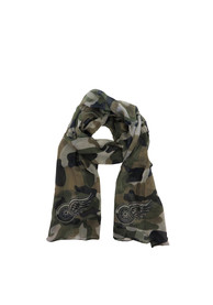 Detroit Red Wings Womens Camo Scarf - Green