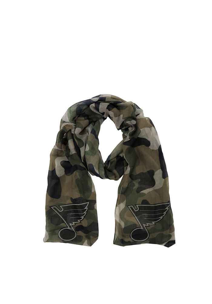 St Louis Blues Camo Womens Scarf - Image 1