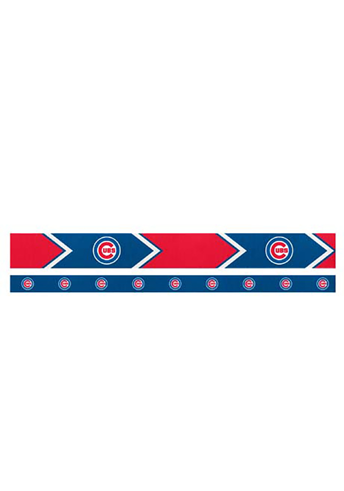 Chicago Cubs Thin and Wide 2 Pack Womens Headband - Image 1