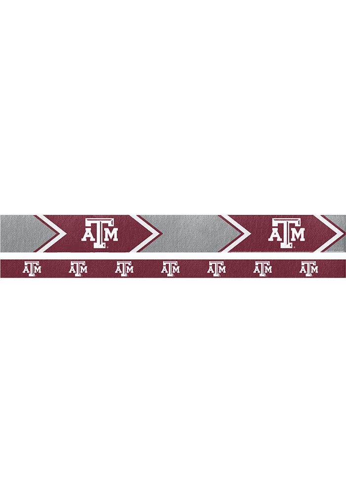 Texas A&M Aggies Thin and Wide 2 Pack Womens Headband - Image 1