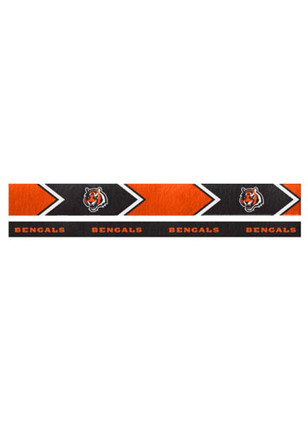 Cincinnati Bengals Thin and Wide 2 Pack Womens Headband