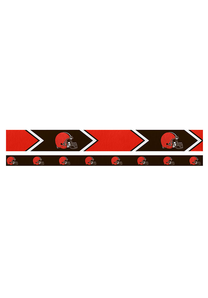 Cleveland Browns Thin and Wide 2 Pack Womens Headband - Image 1
