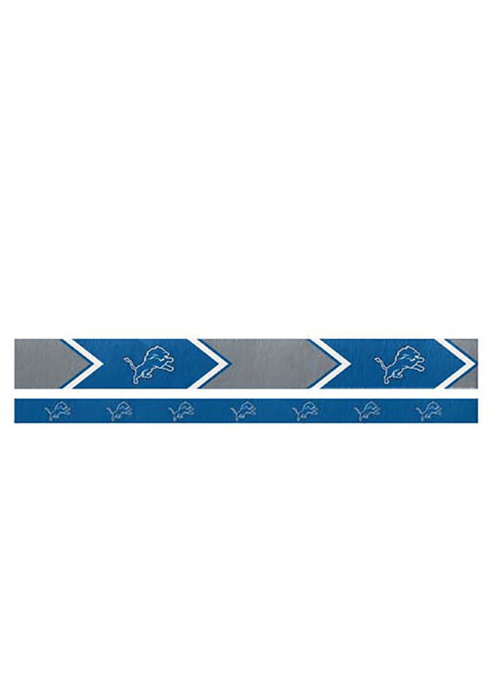 Detroit Lions Thin and Wide 2 Pack Womens Headband - Image 1