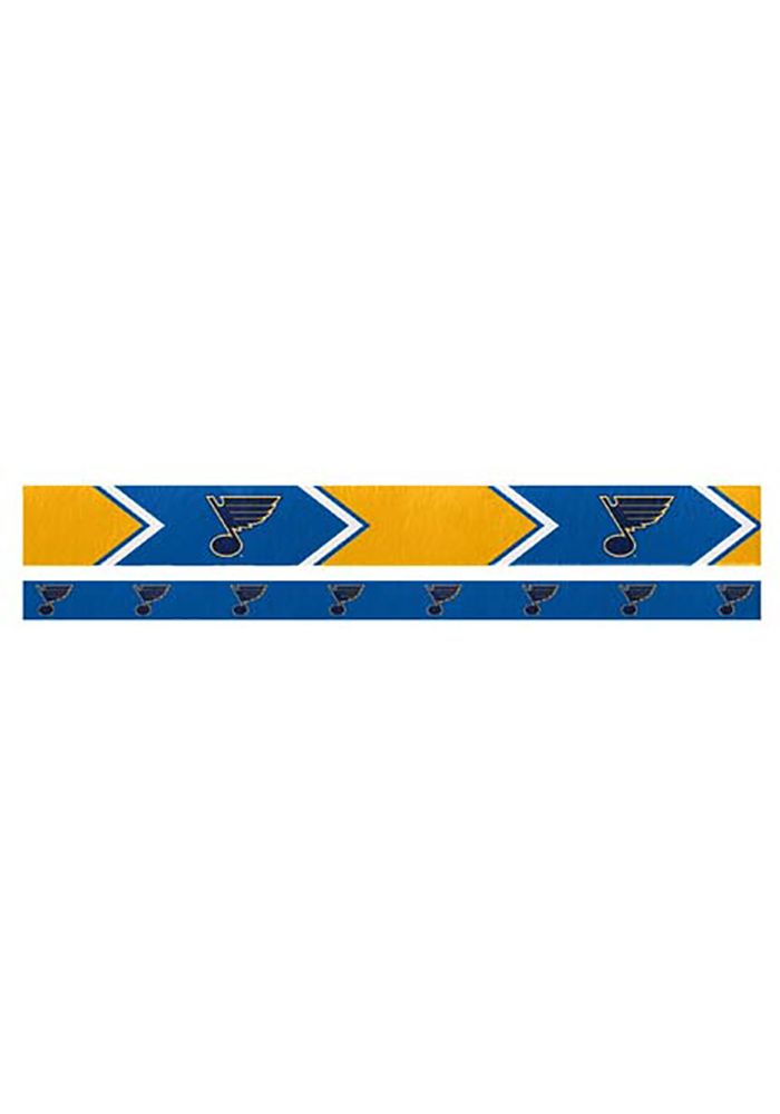 St Louis Blues Thin and Wide 2 Pack Womens Headband - Image 1