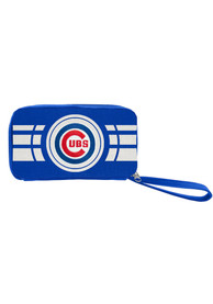 Chicago Cubs Womens Ripple Zip Wallets - Blue
