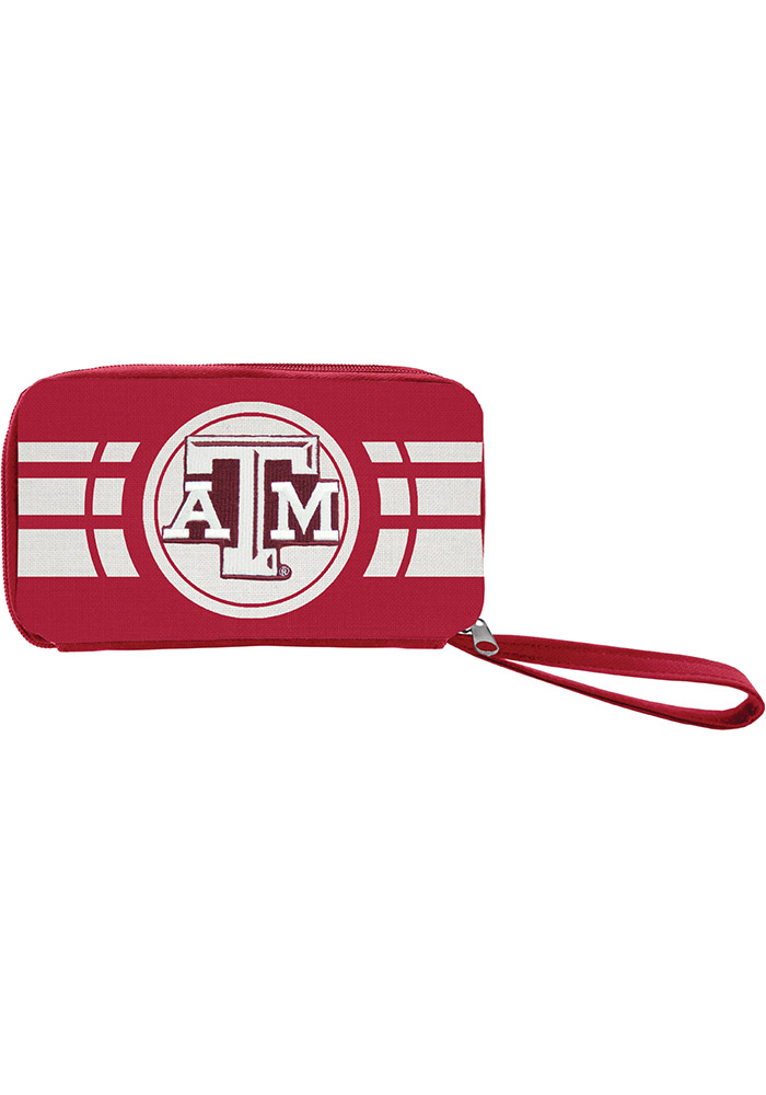 Texas A&M Aggies Ripple Zip Womens Wallets - Image 1