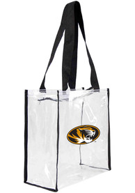 Missouri Tigers Clear Clear Bag - White