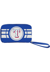 Texas Rangers Womens Ripple Zip Wallets - Red