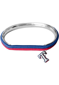 Texas Rangers Womens Hair Tie Bracelet - Red