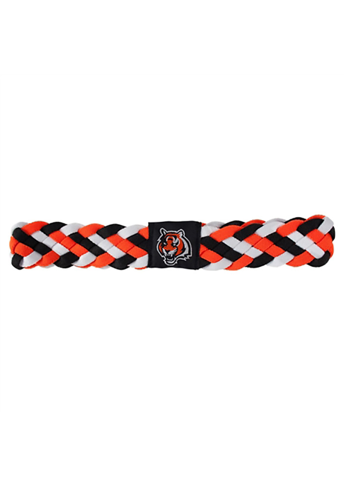 Cincinnati Bengals Braided Womens Headband - Image 1
