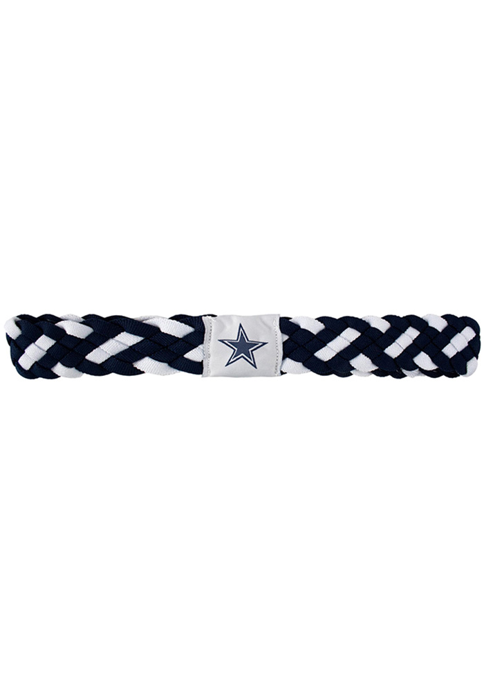 Dallas Cowboys Braided Womens Headband - Image 1