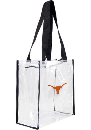 Texas Longhorns White Stadium Approved Clear Bag