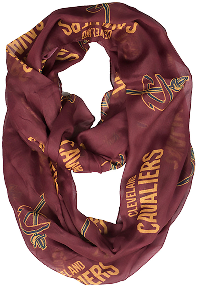 Cleveland Cavaliers Team Logo Womens Scarf - Image 1