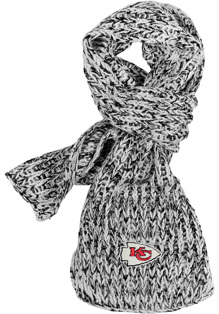 Kansas City Chiefs Marled Womens Scarf - Image 1