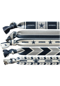 Dallas Cowboys Kids Knotted Hair Ribbons - Blue