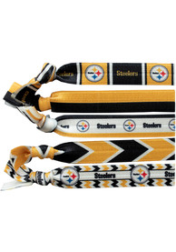 Pittsburgh Steelers Kids Knotted Hair Ribbons - Yellow