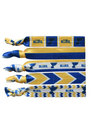 St Louis Blues Kids Knotted Hair Ribbons - Blue