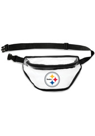 Pittsburgh Steelers Clear Fanny Pack Clear Bag - Yellow