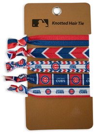 Chicago Cubs Kids Knotted Hair Ribbons - Blue
