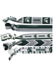 Michigan State Spartans Knotted Kids Hair Ribbons