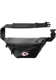 Kansas City Chiefs 3Zip Hip Pack Tote - Black