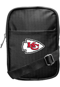Kansas City Chiefs Womens Camera Crossbody Purse - Black