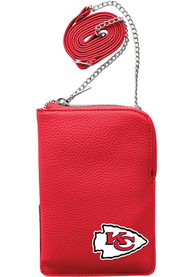 Kansas City Chiefs Womens Pebble Smart Purse - Red
