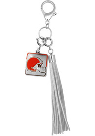 Cleveland Browns Womens Charm Purse - Brown